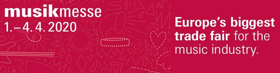 Banner von Musikmesse