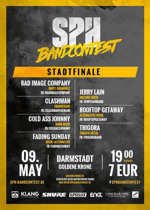 Flyer STADTFINALE - 09.05.2015